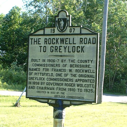 Lanesborough - Rockwell Road Sign