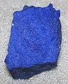 Lapis lazuli (lazuritic metamorphite) (Sar-e-Sang Deposit, Sakhi Formation, Precambrian, 2.4-2.7 Ga (?); Sar-e-Sang Mining District, Hindu-Kush Mountains, Afghanistan) 6 (40672923793).jpg