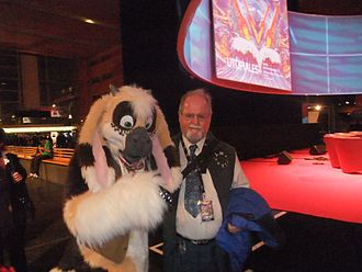Larry Niven - Niven at Les Utopiales in 2010