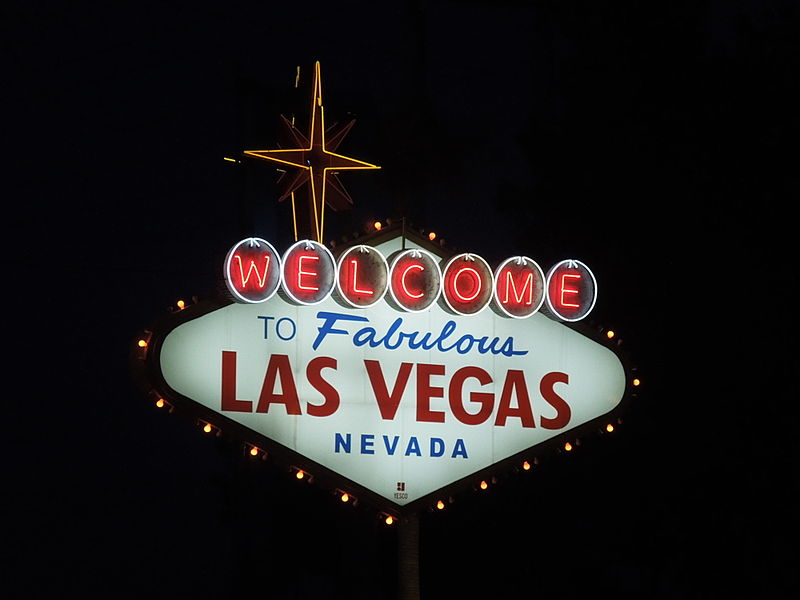File:Las Vegas Sign at Night.JPG