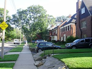 Chaplin Estates - Image: Lascalles Avenue Chaplin Estates