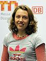 Laura Dahlmeier bei der Olympia-Einkleidung Erding 2014 (Martin Rulsch) 04.jpg