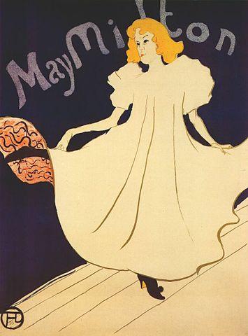 Плакат 1895 года. Тулуз-Лотрек