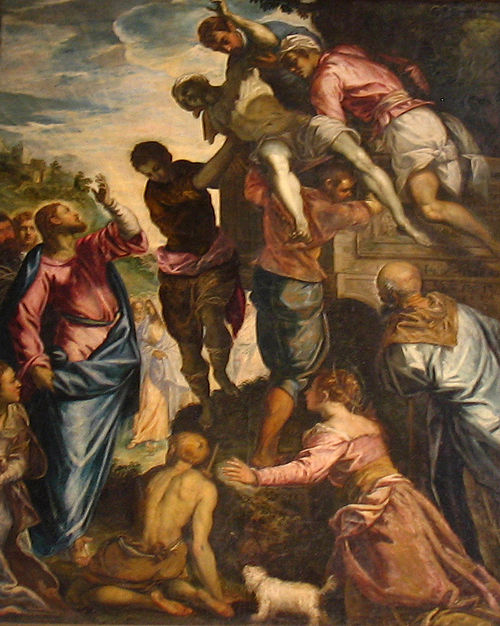 Lazarus by Tintoretto-St Katharinen Luebeck (cropped).jpg