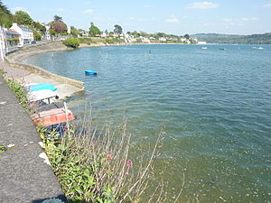Le Relecq-Kerhuon - The cove of Camfrout on the estuary of the Élorn