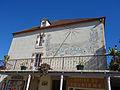 Le cadran solaire sur le pignon de la mairie de Prayssac - Septembre-2015.jpg