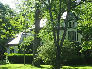 National Register of Historic Places listings in Hendricks County, Indiana - Image: Leander Campbell House
