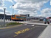 Leeds Bradford Airport bus interchange