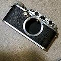 Leica IIIb 1940 with 1949 Summitar (32944283166).jpg