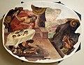 Leolio orsi, frammenti di affreschi dalla rocca di novellara, 1555-56 ca., 10 giove trasforma licaone in lupo.jpg