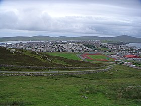 Lerwick from Staney Hill. - Remy Osman