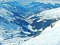 Les 3 Vallées, View from Mont du Vallon to Meribel-Mottaret - panoramio.jpg