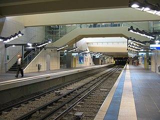 Les Courtilles (Paris Métro) Paris Métro station