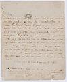 Lettre d'adieu autographe de Charlotte Corday 1 - Archives Nationales - AE-II-1368.jpg