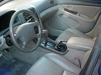 Lexus ES - 1997–1999 ES 300 interior (MCV20; US)