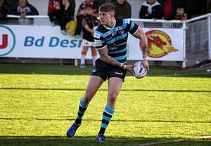 Liam Sutcliffe - Sutcliffe playing for the Leeds Rhinos