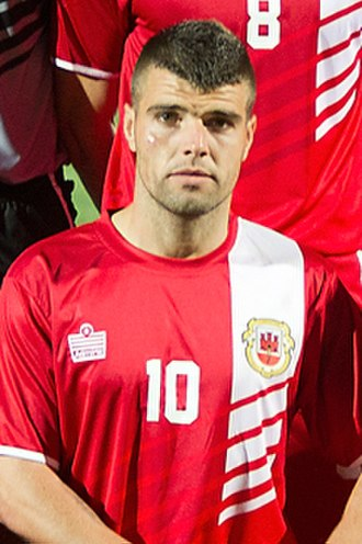 Gibraltar national football team - The Gibraltar most capped player Liam Walker