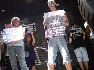 Act against the Austrian ARA jailing. 2008. Spain.