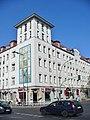 Lichtenberg - Eckhaus am Bahnhof (Corner Block Opposite the Station) - geo.hlipp.de - 40390.jpg