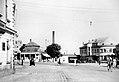 Liesing Breitenfurterstraße Bahnhofplatz ca 1939.jpg