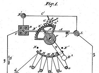 Electro-Dynamic Light Company - Electro-Dynamic lighting system patent