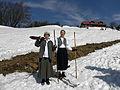 Lilienfeld - Muckenkogel - Nostalgieschilauf 2012 - Teilnehmerinnen.jpg