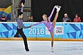 Lillehammer 2016 - Figure Skating Pairs Short Program - Alina Ustimkina and Nikita Volodin 4.jpg