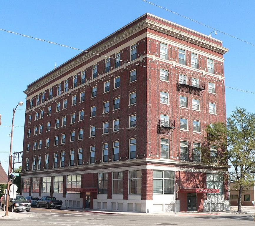 Suites In Lincoln Ne: File:Lincoln Hotel (Scottsbluff, Nebraska) From NW 2.JPG