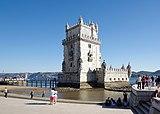 Lisbon Torre de Belém BW 2018-10-03 16-38-01.jpg