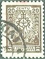 Lithuania 1923 MiNr 0189 B002.jpg
