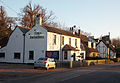 Little Berkhamsted, Hertfordshire, village street 02 - houses and Five Horseshoes public house.jpg