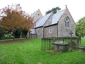 Little Cowarne church and graveyard - geograph.org.uk - 1005928