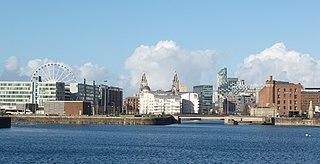 Queens Dock, Port of Liverpool