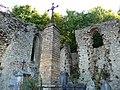 Livron, Drôme, France. Abbaye du vieux cimetière 03.jpg