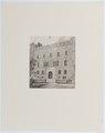 Ljustryck över slott och egendomar. Hallwylska palatset - Hallwylska museet - 105139.tif