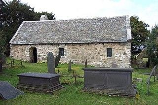 Llanrhychwyn Hamlet in Wales