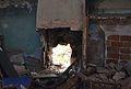 Llar de foc d'una casa de Llombai, la vall de Gallinera.JPG