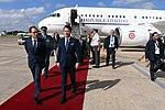 Llegada de Giuseppe Conte, primer ministro de Italia (44285152520).jpg
