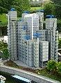 Lloyds Building in Miniland, Legoland Windsor.JPG