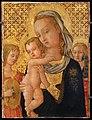 Lo scheggia, madonna col bambino e due angeli, 01.jpg