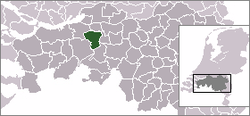 Location of Oosterhout