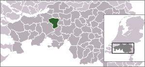 Dorst - Image: Locatie Oosterhout