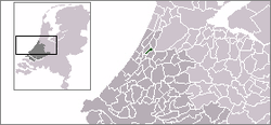 Location of Sassenheim
