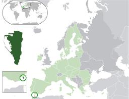 Situo de Ĝibraltaro enkadre de Eŭropo