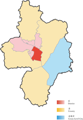Location of Baohe District in Hefei.png