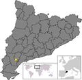 Location of Els Guiamets.png