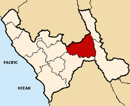 Location of the province Sánchez Carrión in La Libertad.png