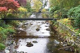 Lodore Falls bridge. - panoramio