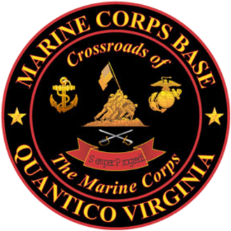 Marine Corps Base Quantico - The former logo of MCB Quantico.