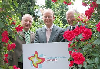 Rietberg - Presentation of the Logo for the 2008 gardening show